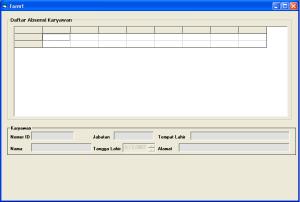 form input data