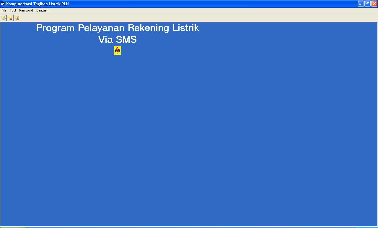 sms gateway listrik