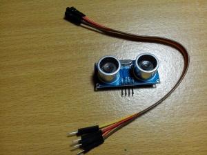HC-SR04 dan kabel jumper female-male