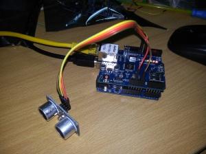 Pemasangan kabel jumper pada modul ethernet W1500